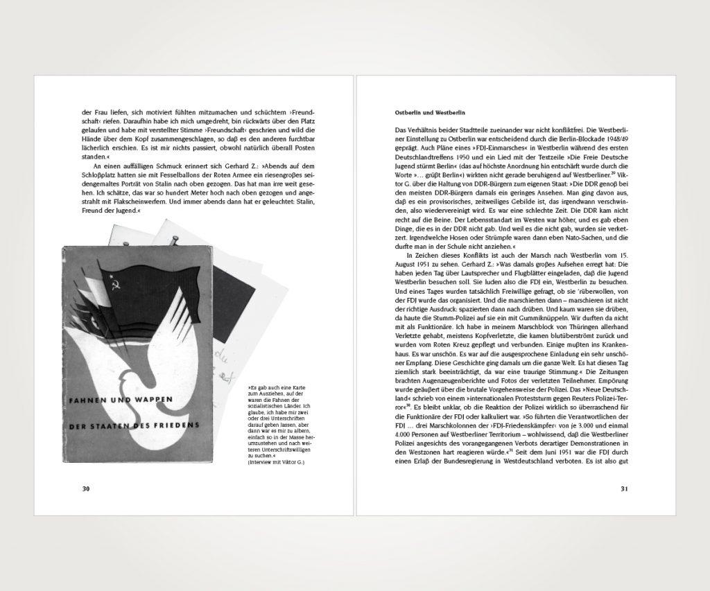 Buchsatz »Fortschritt Norm und Eigensinn«