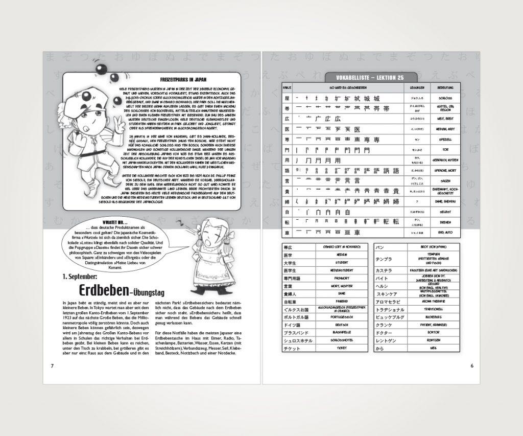 Buchsatz »Japanisch für Manga-Fans«