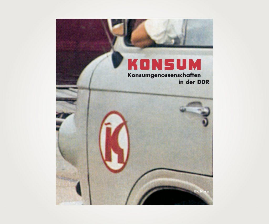 Buchsatz »KONSUM. Konsumgenossenschaften in der DDR«