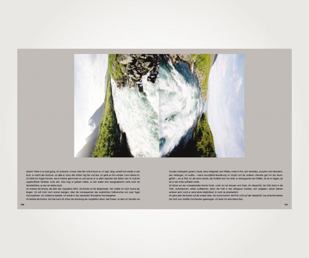 Buchsatz »Tage und Nächtebücher aus Lappland«