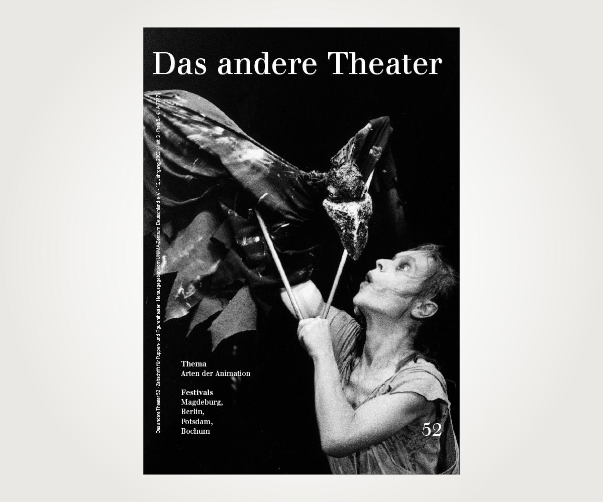 Zeitschrift »Das andere Theater«
