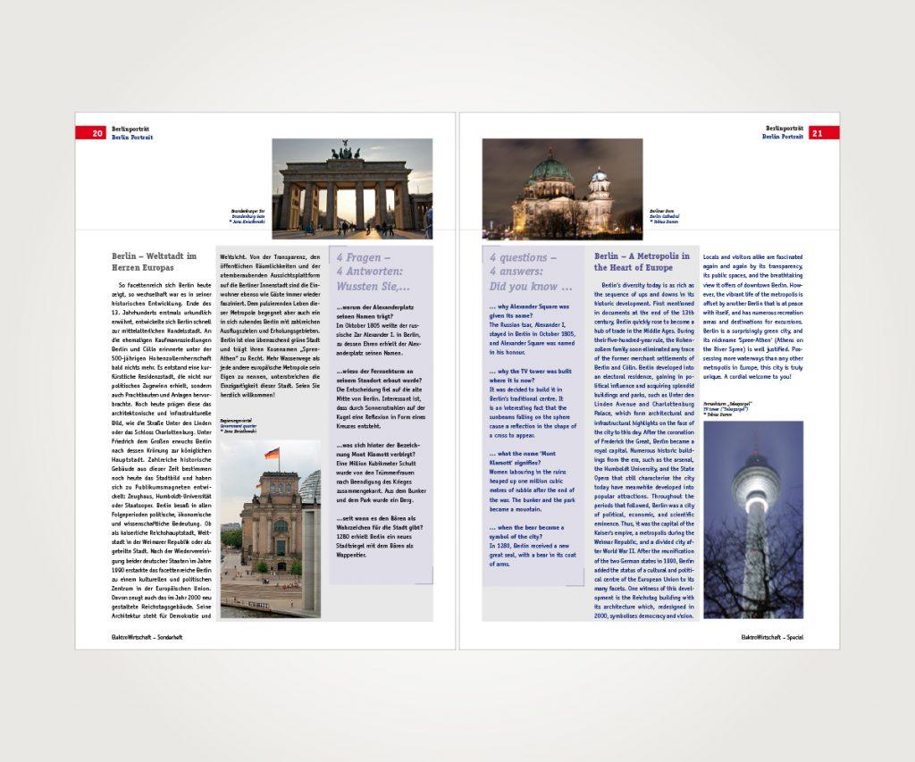 Zeitschriften »Elektro Wirtschaft«