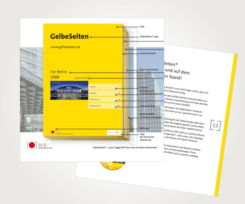 Imagebroschüre »Gelbe Seiten«