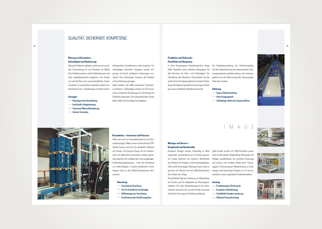 Imagebroschüre »HaRo-Gruppe«